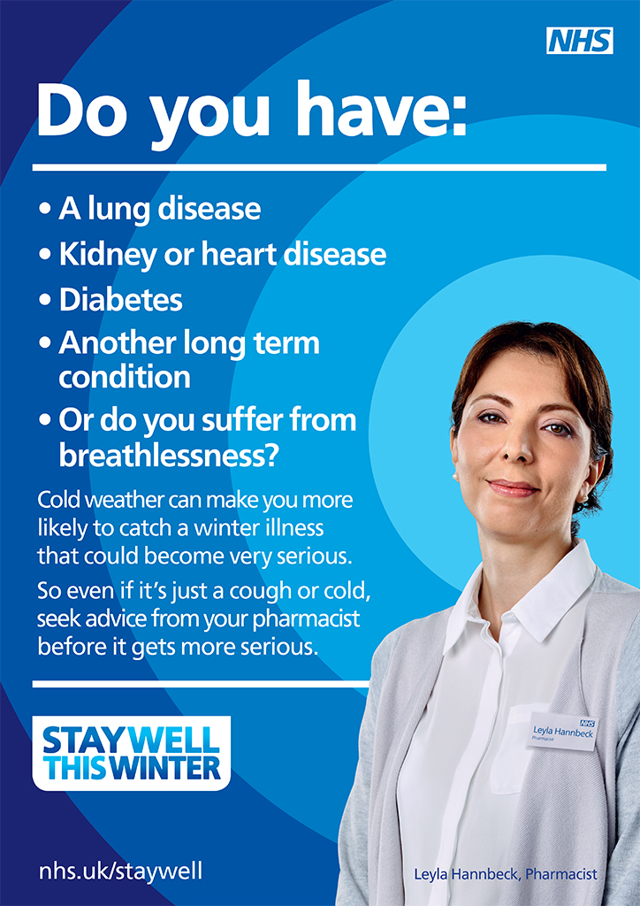 Flu jab long term conditions