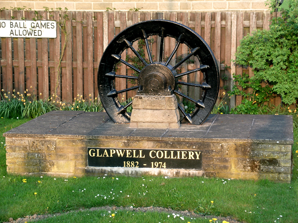 Glapwell Colliery Wheel